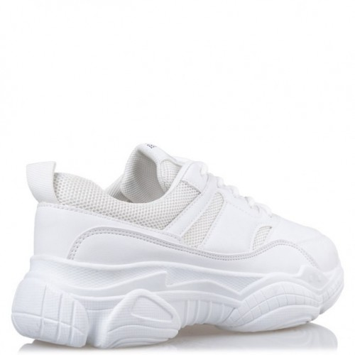 Mairiboo by ENVIE SHOES M74-10997 WHITE SNEAKERS ΓΥΝΑΙΚΕΙΑ ΠΑΠΟΥΤΣΙΑ